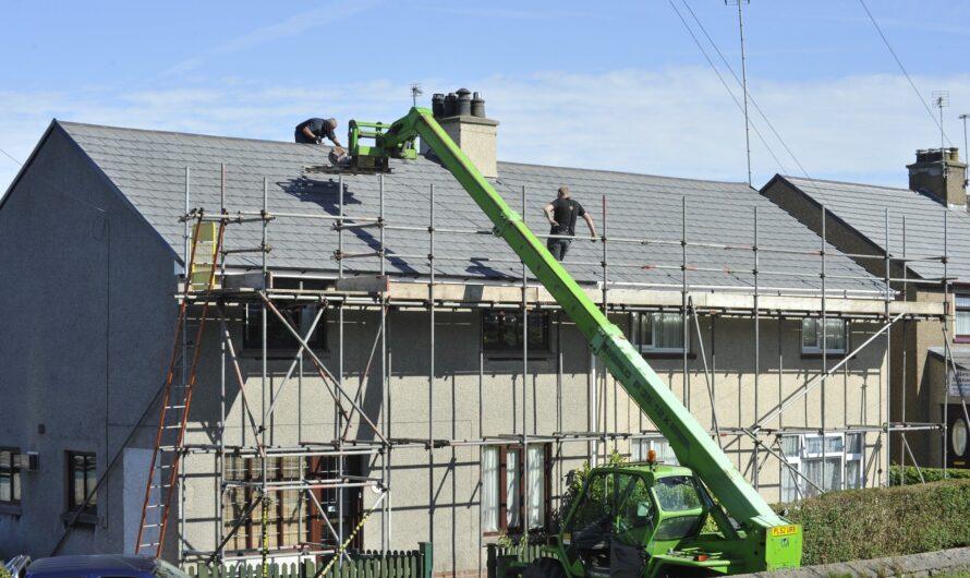 Combien coute la rénovation de 300 m2 de toiture?