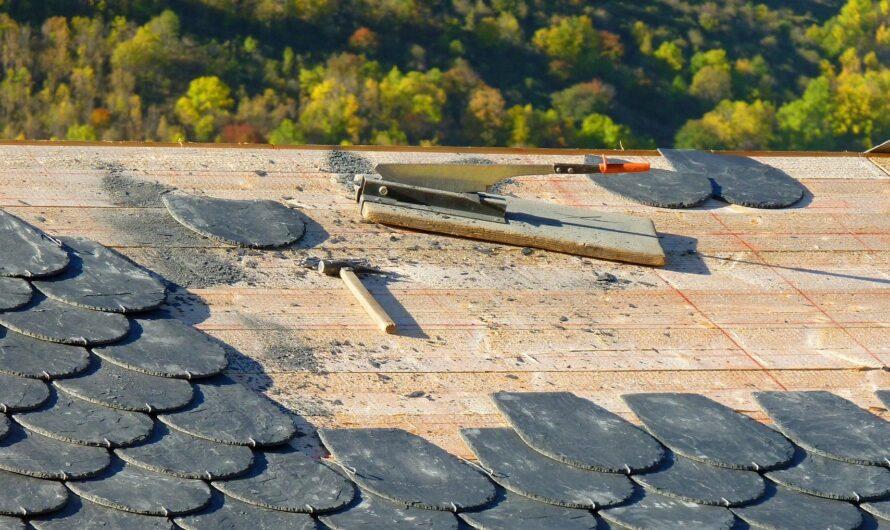 Combien coute la rénovation d'une toiture en ardoise ?